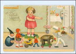 XX008910/ Geburtstag  Puppen Spielzeug  Meissner & Buch Litho AK 1929 - Compleanni