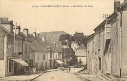 CHAMPAGNOLE-quartier Du Parc - Champagnole