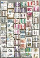 Monde Sauf France : 10200 Timbres En Bottes Par Multiples De 10 - Stamps