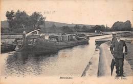 82 - Moissac - Gros Plan De La Péniche Ernest Sur Le Canal - Belle Promenade Sur Le Chemin - Moissac