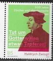 SWITZERLAND, 2019, MNH, JOINT ISSUE WITH GERMANY,  REFORMATION, RELIGION,1v - Gezamelijke Uitgaven