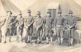 CPA MILITARIA SOLDATS AMERICAINS - Uniformes