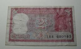1987/90 - Inde - India - 2 RUPEES - J8S 680983 - India