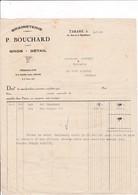 69-P.Bouchard..Graineterie...Tarare....(Rhône)..1955 - Alimentaire