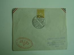 Liberation De Paris 1944 Musee Carnavalet Obliteration Lettre - Postmark Collection (Covers)