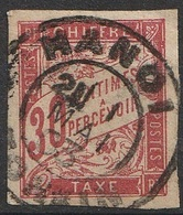 Colonies Emissions Générales Taxe 1893-1908 N° 22 Oblitération De Hanoi  (F20) - Postage Due