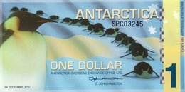 ANTARCTICA  ONE DOLLAR 2011 FANTASY ISSUES  COL. ANT-014e  UNC - Andere