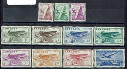 Cameroun - P. Aérienne 1/11 - Neufs - X - Traces - Cote 11,50 € - Cameroun (1915-1959)
