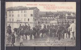 10 BAR SUR AUBE MANIFESTATIONS DES VIGNERONS - Bar-sur-Aube