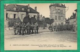 Coucy-Le-Château (02) Enterrement D'un Soldat Allemand 2scans 14-05-1915 - Otros Municipios