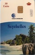 SEYCHELLES - Phonecard  -  Anse Source D'Argent  - 30 Units - Seychellen
