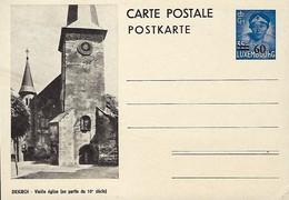 Luxembourg  -  Carte Postale - Postkarten - Diekirch - Vieille église (en Partie Du 10e Siècle - Entiers Postaux
