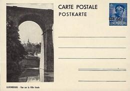Luxembourg  -  Carte Postale - Postkarten - Luxembourg - Vue Sur La Ville-Haute - Entiers Postaux