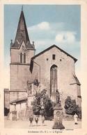 87 - Ambazac - L'Eglise - La Fontaine - Belle Animation - Ambazac