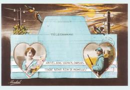 CARTE PRE OBLITEREE - PAP FRANCE 2018 - HOMMAGE AUX COMBATTANTS 1914 - 1918 - Frankrijk