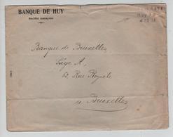 REF469/ C.fortune Port Payé Huy 1 4/12/18 S/L.Banque De Huy > Bruxelles - Fortuna (1919)