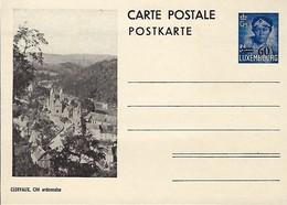 Luxembourg  -  Carte Postale - Postkarten - Clervaux - Cité Ardennaise - Entiers Postaux