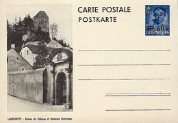 Luxembourg  -  Carte Postale - Postkarten - Larochette - Ruines Du Château Et Demeure Historique - Entiers Postaux