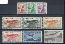 Cameroun - P. Aérienne 22/29 + 30 - Neufs - X - Traces Légères - TB - - Cameroun (1915-1959)