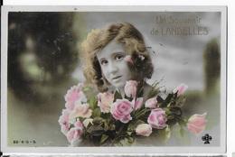 28 - LANDELLES - Un Souvenir    JYV - France