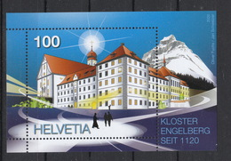 Schweiz  **  900 Jahre  Block  Kloster Engelberg Neuausgabe   5.3.2020 - Bloques & Hojas