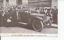 LES PETITS REFUGIES DE L'OISE PARTANT EN VACANCES  1916 - France