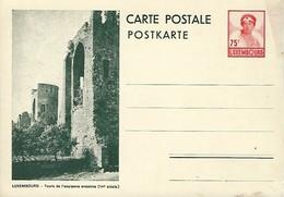 Luxembourg  -  Carte Postale - Postkarten - No.108 - Luxembourg - Tours De L'ancienne Enceinte 14e Siècle - Entiers Postaux