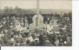 PLESSIS  Carte Photo 1925 Aimee Procession??? - France