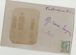 Carte Photo ( Italie) Finale Ligure , Finalmarina   1908 - Savona