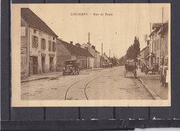 71 LOUHANS PLIS A DROITE RUE DE BRAM - Louhans
