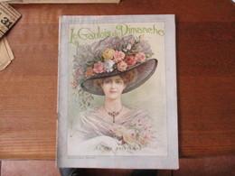 LE GAULOIS DU DIMANCHE DES 2-3 AVRIL 1910 LA FEE PRINTEMPS LE SHAH DE PERSE,LES CHARTREUX EN EXIL,L'ESPRIT DE NADAR,VOYA - 1900 - 1949
