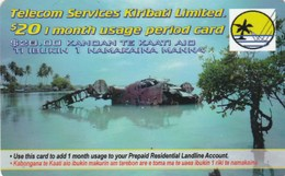 Kiribati - $ 20 Prepaid Calling Card - Kiribati