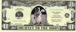 USA-FANTASY DOLLARS-11 JOURNEY TO THE MOON-UNC - USA