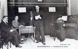 76  ROUEN  RADIO NORMANDIE  L'AUDITORIUM - Rouen