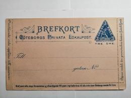 Brefkort Goteborg Privata Lokalpost - Ganzsachen