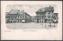Czech Republic / Böhmen: Sternberg (Šternberk), Ringplatz Mit Rudolfsgasse - Tchéquie