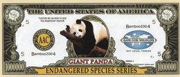 USA-FANTASY DOLLARS-GIGANT PANDA-UNC - USA