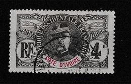 COTE D'IVOIRE YT 23 Oblitéré - Usados