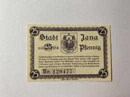 Allemagne Notgeld Jena 25 Pfennig - [ 3] 1918-1933 : République De Weimar