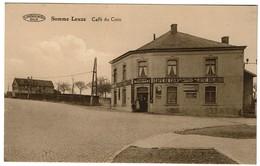 Somme-Leuze - Café Du Coin - Edit. Tirtiaux - Thirion, Négociant - 2 Scans - Somme-Leuze