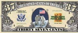 USA-FANTASY DOLLARS-THIRTY SEVEN CENTS-UNC - USA