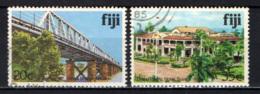 FIJI - 1979 - Rewa Bridge, Grand Pacific Hotel, Suva - USATI - Fiji (1970-...)