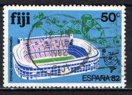 FIJI - 1982 - CAMPIONATO MONDIALE DI CALCIO ESPANA '82 - USATO - Fiji (1970-...)
