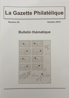 Revue Thématique N°54 : Pigeongramme, Signature Expert, Cartes-lettres à Publicités D'Italie (1919), La Famine Soviétiqu - Motive