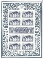 2014 Slovakia Wedding Palace  Miniature Sheet  MNH @ BELOW Face Value  **Wrinkle Upper Right** - Blocchi & Foglietti