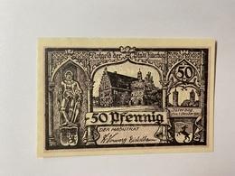 Allemagne Notgeld Juterbog 50 Pfennig - [ 3] 1918-1933 : République De Weimar
