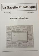 Revue Thématique N°52 : Les Entiers Postaux Publicitaires D'Italie (1919-1923) Origine Des Noms Des Jours De La Semaine - Motive