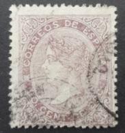 Espagne: Yvert N° 92 (Isabelle II, 1867-69) Oblitéré - Usati