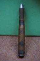 2010  Munition De Flak 20 Mm Allemande  2° G M   Neutralisées Voir Description  Vente Retirée Le 21-03 - Decorative Weapons