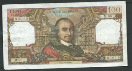 "FRANCE - 100 Francs "" Corneille "" , N° 93019 / M.99 -  Date :  G.1-7-1965.G.  Laura4903 - 100 F 1964-1979 ''Corneille''"